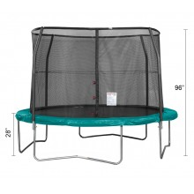 Jumpking 10' Feet Trampoline (Arrow Combo)