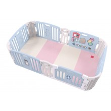 Haenim (Korea) Signature Baby Room With Activity Center (Sky Blue II) with Color Foldable Play Mat