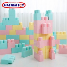Haenim Toy Macaron Big Block 77Pcs