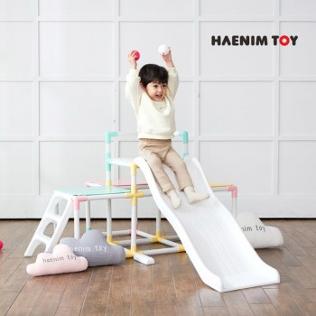 Haenim Toy Activity Jungle Climber & Slide