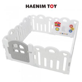 Haenim (Korea) Baby Play Yard Petit 8 Panels (White)