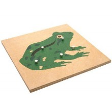 Animal Puzzles-frog