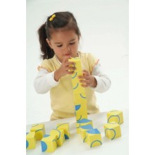 WePlay Art Blocks – Fun with Curves (12 pcs)