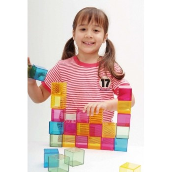 WePlay Art Blocks – Rainbow Crystal (16 pcs)