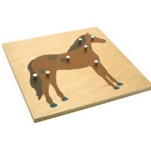 Animal Puzzles-horse