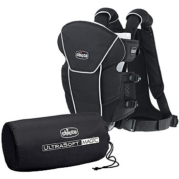 Chicco Ultra Soft Magic Baby Carrier Black
