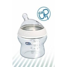 Chicco Step Up 1 Feeding Bottle with Inclinded Teat - Normal Flow - Plastic 0% BPA - 150 ml