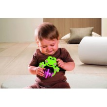 Chicco Fun Teething Rattles - Frog