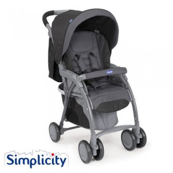 Chicco Simplicity Plus Top Stroller Anthracite