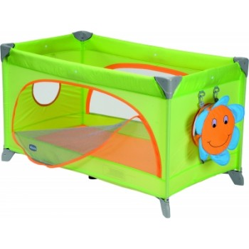 Chicco Spring Travel Cot Green
