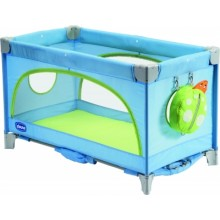 Chicco Spring Travel Cot Light Blue