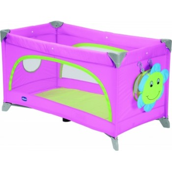Chicco Spring Travel Cot Pink