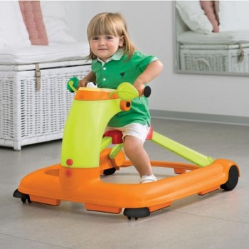 Chicco 123 Baby Walker Orange