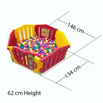 Ching Ching (Taiwan) Ball Pool @ 500 pcs 6cm Play balls / Ball Pit
