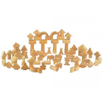 Jungle Animal Blocks (99 pcs)
