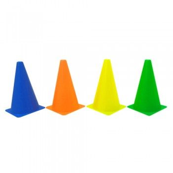 "9"" Sport Cone / Skittle Cone (Set of 4)"
