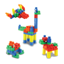 Jumbo Blocks (84pcs, Durable & Non-Toxic)