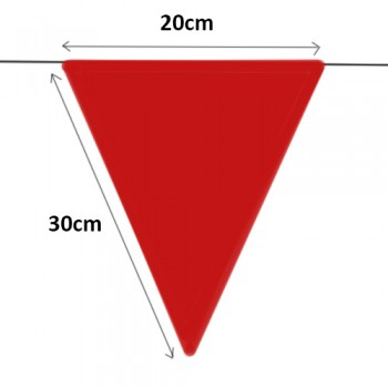Flag Line / Triangle Flag 150ft (Durable Quality)