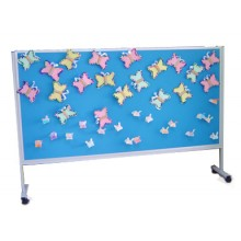 Foam Notice Board 6' X 4'h With Stand
