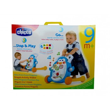 Chicco Baby Steps Activity Walker Penguin 2 in 1
