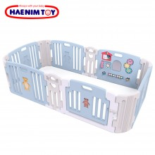 Haenim Toy Signture  Baby Room With Activity Center Sky Blue Play Yard