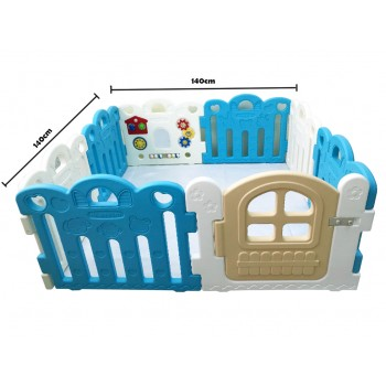 Haenim (Korea) Ball Pool 8 Panels Blue @500pcs 6cm Balls