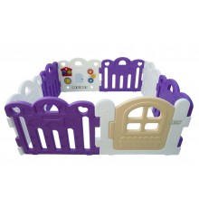 Haenim ( Korea ) Baby Play Yard Petit 8 Panels Purple