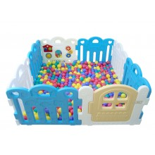Haenim (Korea) Ball Pool 8 Panels Blue @500pcs Balls