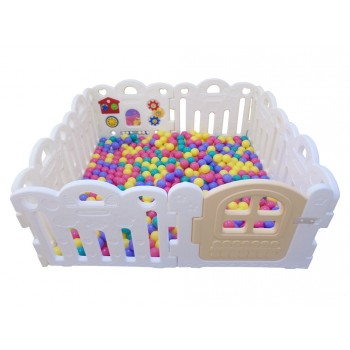 Haenim (Korea) Ball Pool 8 Panels White @500pcs 6cm Balls