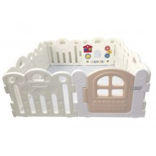 Haenim ( Korea ) Baby Play Yard Petit 8 Panels White