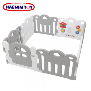 Haenim (Korea) Baby Play Yard Petit 8 Panels Grey
