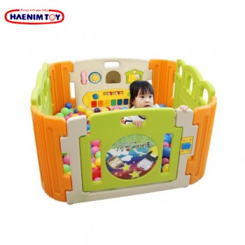 Haenim Toy (Korea) Baby Play Yard 4 Panel with Melody (Cloud Bread)