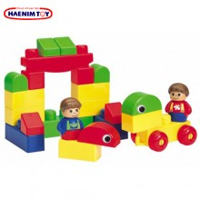 Haenim (Korea) Kids Building Blocks - 84pcs ( Aga Blocks )