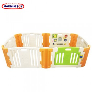 Haenim (Korea) Baby Play Yard 6 + 6 panel with Activity (Beige)
