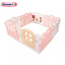 Haenim (Korea) Baby Play Yard Petit 8 Panels Pink