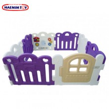 Haenim (Korea) Baby Play Yard Petit 8 Panels (Purple)