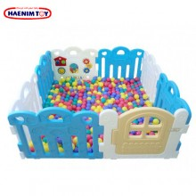 Haenim (Korea) Ball Pool 8 Panels Blue @500pcs 7cm Balls