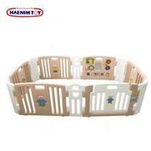 Haenim (Korea) Baby Play Yard 6+6 Panels Activity Rose Gold