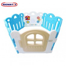 Haenim (Korea) Baby Play Yard Petit 6 Panels With Activity Blue