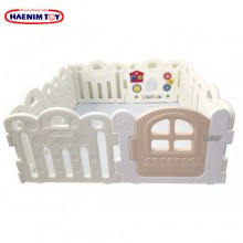 Haenim (Korea) Baby Play Yard Petit 8 Panels White