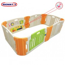 Haenim (Korea) Baby Play Yard 6 + 6 Panels with Melody (Beige)