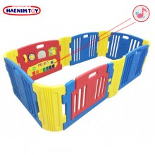 Haenim (Korea) Baby Play Yard 6+6 Panels with Melody (Blue)