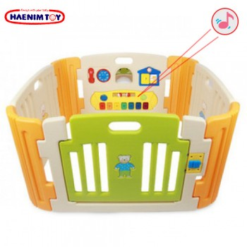 Haenim (Korea) Baby Play Yard 4 Panels with Melody