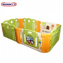 Haenim (Korea) Baby Play Yard 6+6 Panels with Activity (Cloud Bread)