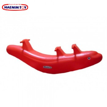 Haenim (Korea) Dolphin Seesaw (Red / Blue)