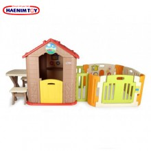 Haenim (Korea) My First Play House + Play Yard