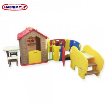 Haenim (Korea) My First Play House + Play Yard + Mini Coco Slide