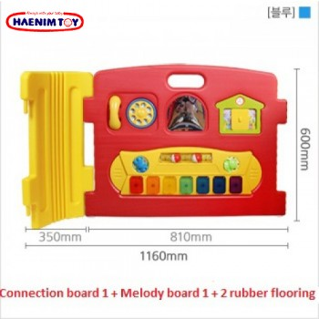 Haenim (Korea) Baby Play Yard Melody Panel (Red)