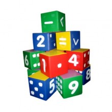 Huge Numbering Cubes (Figure Blocks)
