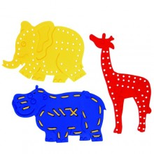 Lacing Animals (3pcs) (S5009(C)